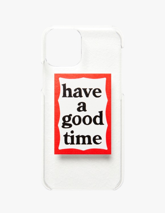 have a good time Frame Iphone Case 12Pro Max - Clear | HEIGHTS. | 하이츠 온라인 스토어