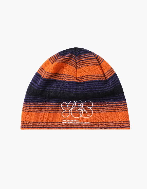 yeseyesee Y.E.S Stripe Beanie - Orange | HEIGHTS. | International Store