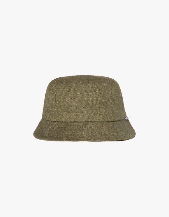 Victoria Hong Kong Dobby Buckle Hat - Olive | HEIGHTS. | International Store