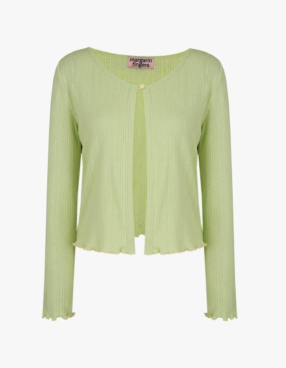 Margarin Fingers One Button Cardigan - Green | HEIGHTS. | 하이츠 온라인 스토어