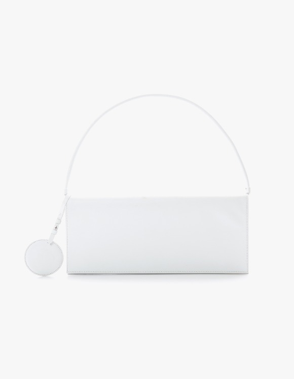 TheOpen Product Flat Leather Shoulder Bag - White | HEIGHTS. | 하이츠 온라인 스토어
