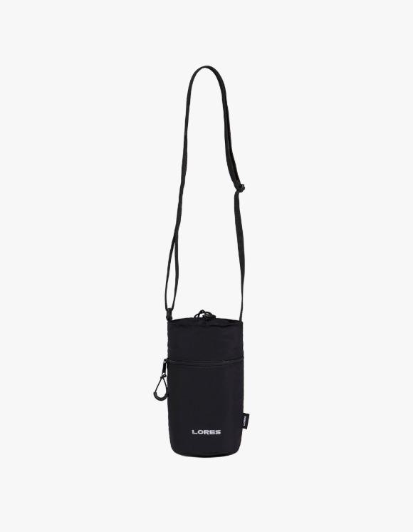LORES Water Bottle Bag - Black | HEIGHTS. | 하이츠 온라인 스토어