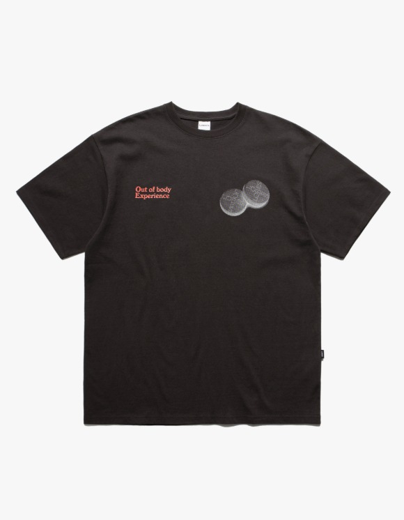 LORES Out of body S/S Tee - Charcoal | HEIGHTS. | 하이츠 온라인 스토어
