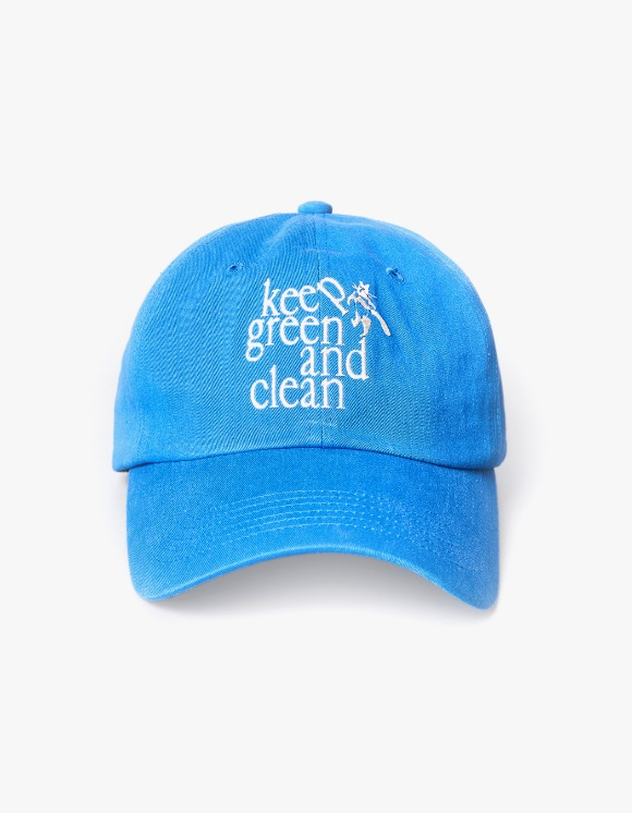 Enzo Blues Keep Green and Clean Ballcap - Blue | HEIGHTS. | International Store