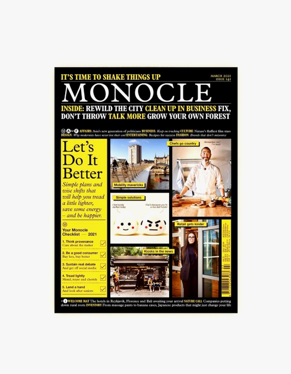 Monocle Monocle Magazine - Issue 141 | HEIGHTS. | International Store