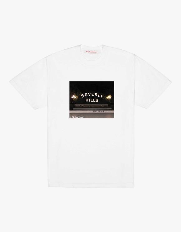 Richardson Beverly Hill S/S Tee - White | HEIGHTS. | International Store