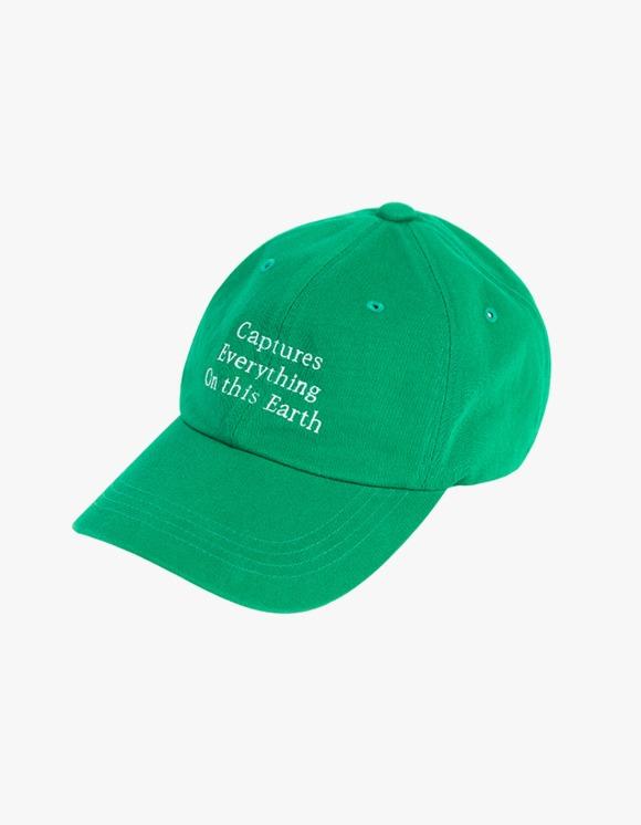 Brown Yard Vintage Baseball Cap - Green | HEIGHTS. | 하이츠 온라인 스토어