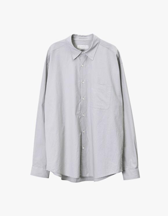 Brown Yard Steady Shirt - Ice Grey | HEIGHTS. | 하이츠 온라인 스토어