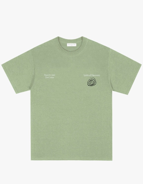 Museum Of Peace & Quiet Spiritual Discovery S/S Tee - Pistachio | HEIGHTS. | International Store