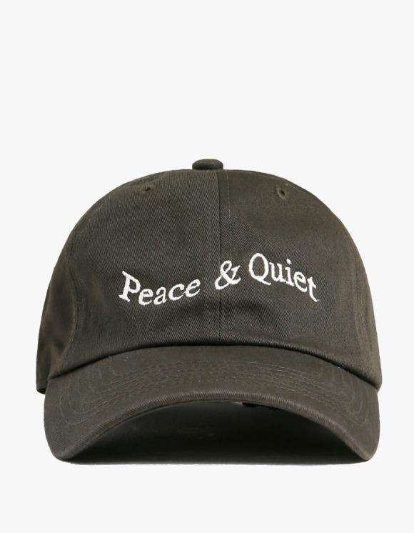 Museum Of Peace & Quiet Wordmark Cap - Forest   HEIGHTS.   하이츠 온라인 스토어