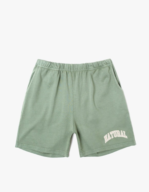 Museum Of Peace & Quiet Natural Gym Shorts - Sage | HEIGHTS. | 하이츠 온라인 스토어