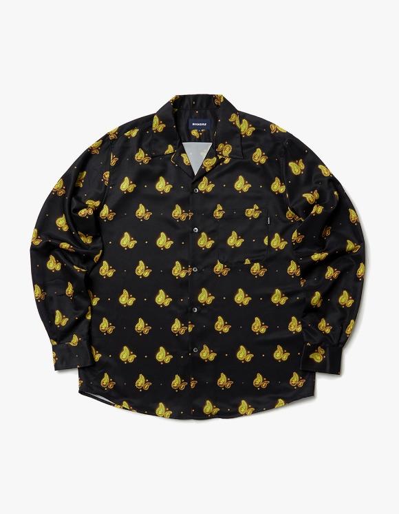 WKNDRS Paisley L/S Shirt - Black | HEIGHTS. | International Store