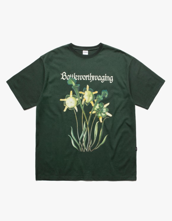 LORES Battleworthwaging S/S Tee - Dark Green | HEIGHTS. | 하이츠 온라인 스토어
