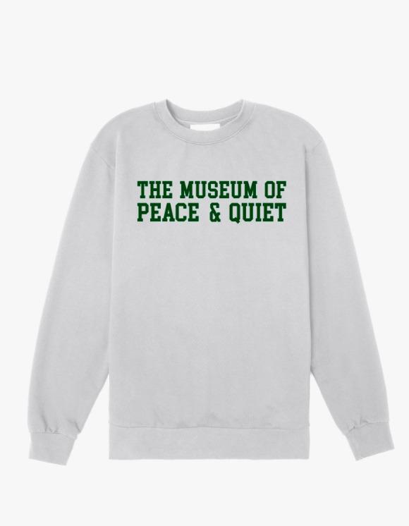 Museum Of Peace & Quiet Campus Crewneck - Grey | HEIGHTS. | International Store