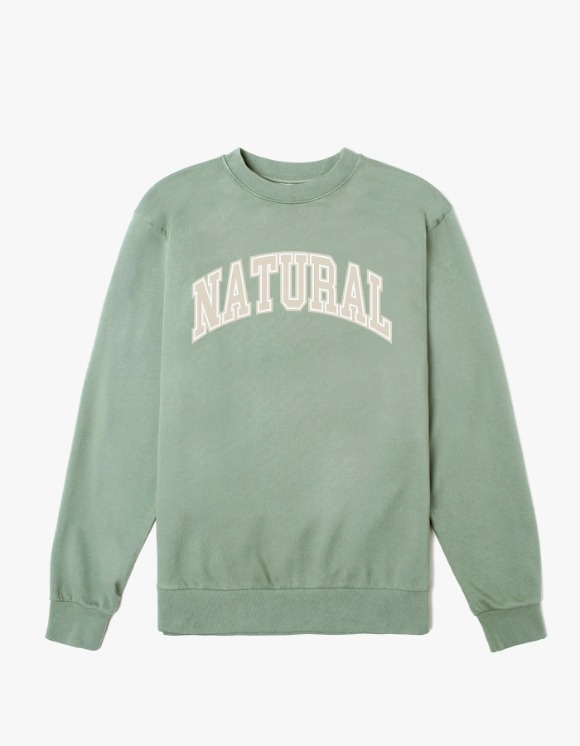 Museum Of Peace & Quiet Natural Crewneck - Sage | HEIGHTS. | International Store