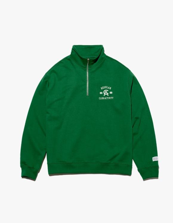 Club Activity Regular Pullover Sweat - Green | HEIGHTS. | International Store