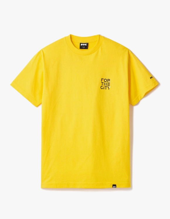 FTC FOR THE CITY by YOON S/S Tee - Yellow | HEIGHTS. | 하이츠 온라인 스토어
