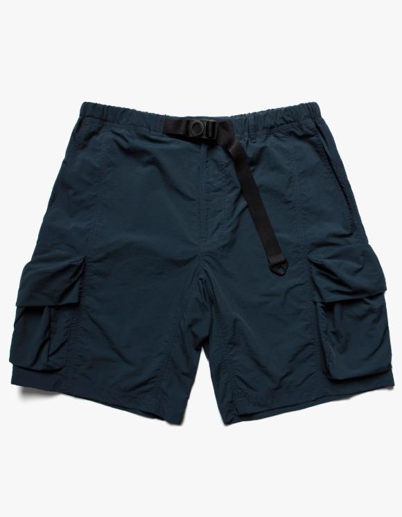 LORES Nylon Cargo Shorts - Dark Teal | HEIGHTS. | 하이츠 온라인 스토어