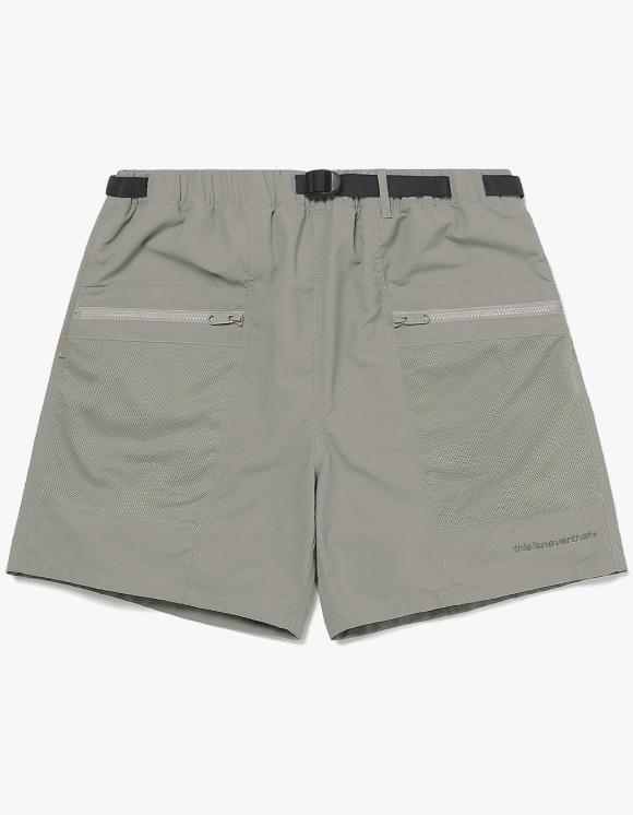 thisisneverthat Mesh Zip Pocket Short - Grey | HEIGHTS. | 하이츠 온라인 스토어