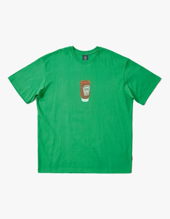 WKNDRS Ketchup S/S Tee - Green | HEIGHTS. | 하이츠 온라인 스토어