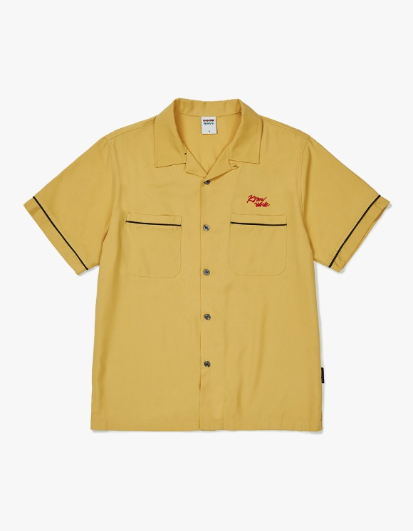 Know Wave Know Wave Bowling S/S Shirt - Yellow | HEIGHTS. | International Store