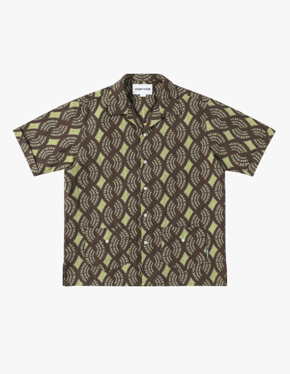 yeseyesee Y.E.S Jaquard Shirts - Brown | HEIGHTS. | International Store