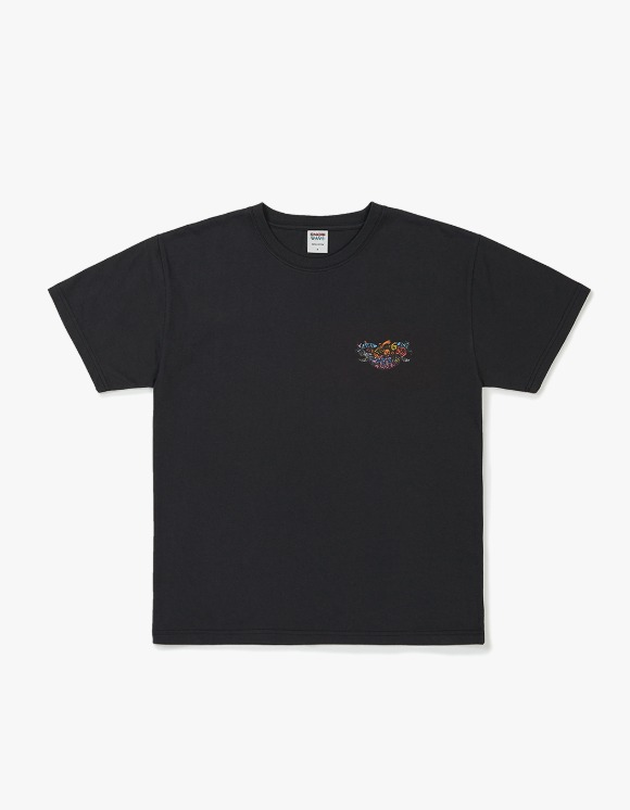 Know Wave Psychedelic S/S Tee - Dark Charcoal | HEIGHTS. | International Store