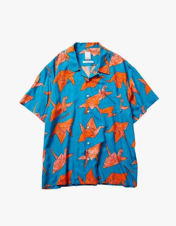Liberaiders Origami Rayon Shirts - Blue | HEIGHTS. | International Store