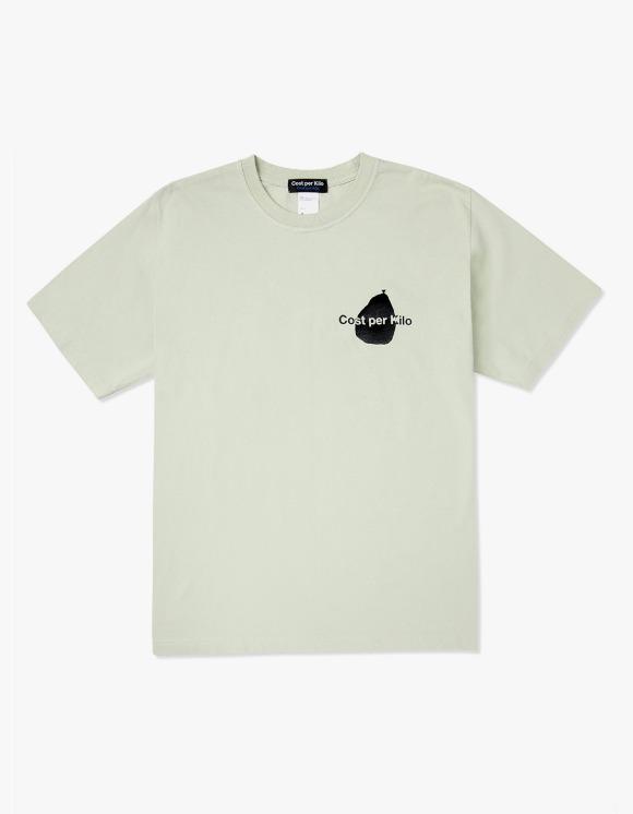 Cost Per Kilo Basic Logo S/S Tee - Light Green | HEIGHTS. | International Store