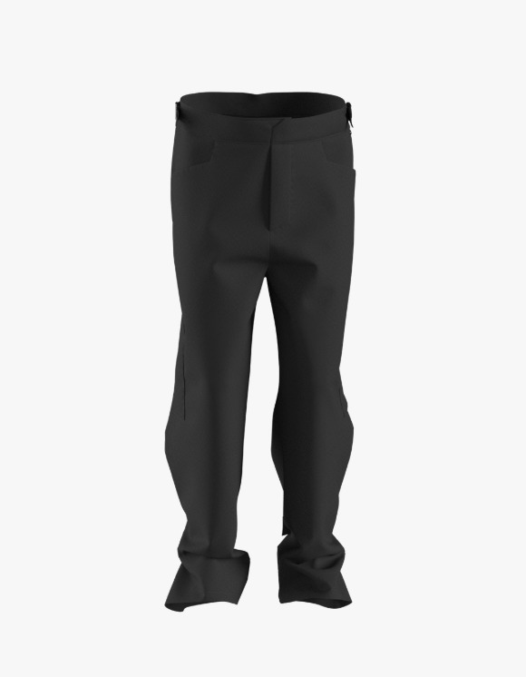 Mudule Q1 : Snap Trousers - Black | HEIGHTS. | International Store