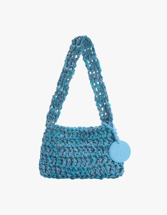 TheOpen Product Knitted Shoulder Bag Nothing Everything Collab - Blue | HEIGHTS. | International Store