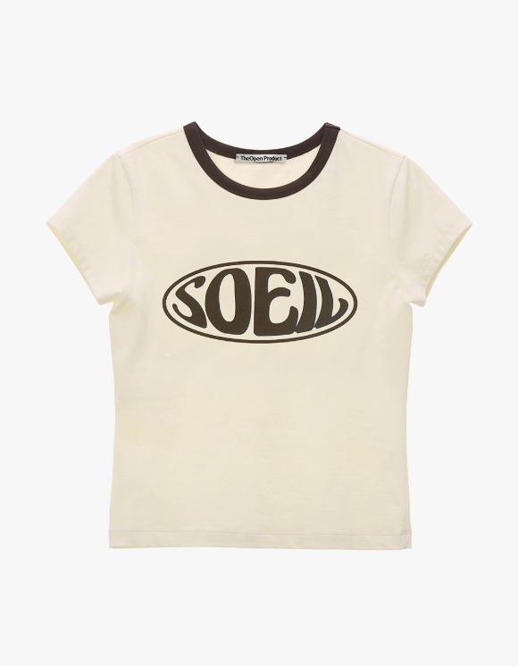 TheOpen Product Soeil Fitted S/S Tee - Cream | HEIGHTS. | 하이츠 온라인 스토어