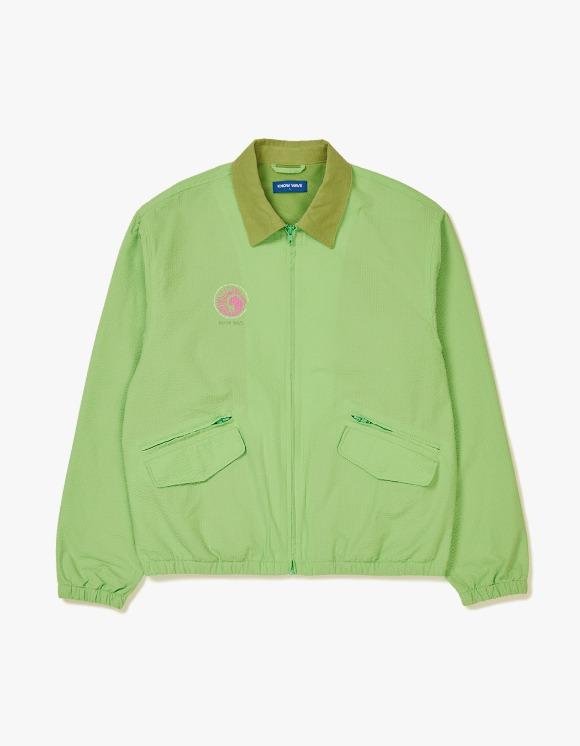 Know Wave Ammonite Seersucker Jacket - Green | HEIGHTS. | 하이츠 온라인 스토어