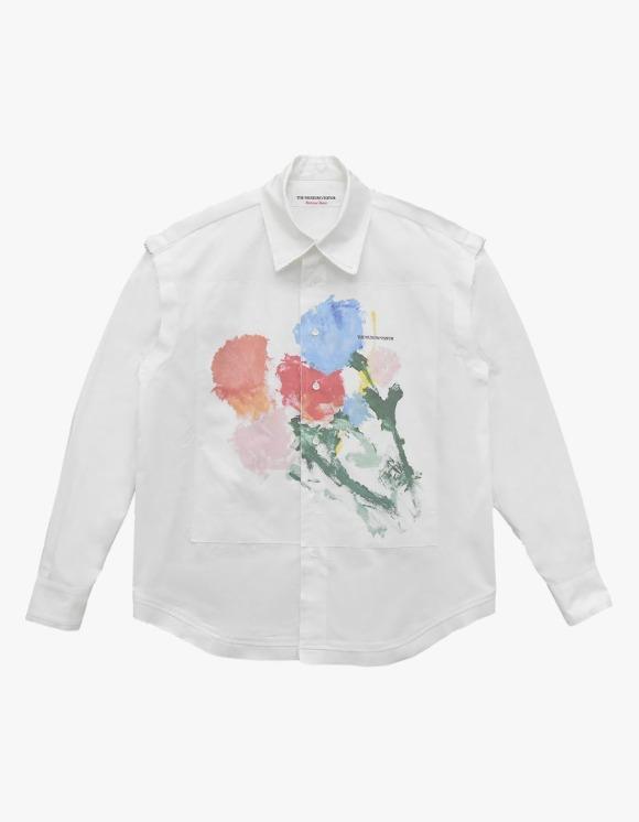 The Museum Visitor Avant Flower Shirts - White | HEIGHTS. | 하이츠 온라인 스토어