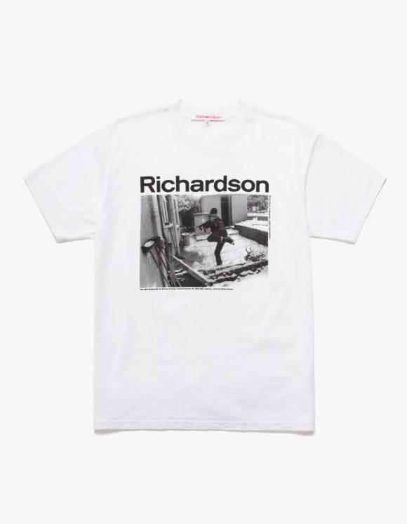 Richardson Gilles Peress S/S Tee - White | HEIGHTS. | International Store