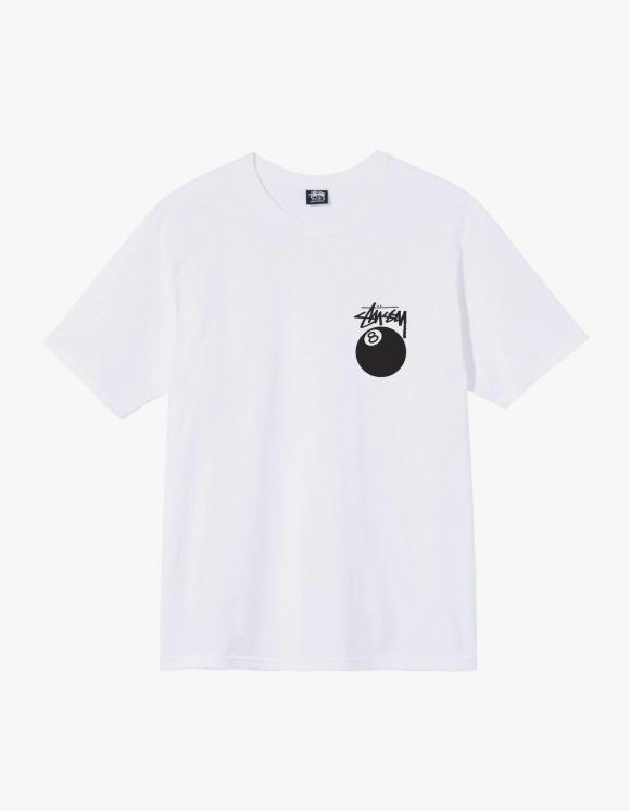Stussy 8 Ball Tee - White | HEIGHTS. | 하이츠 온라인 스토어