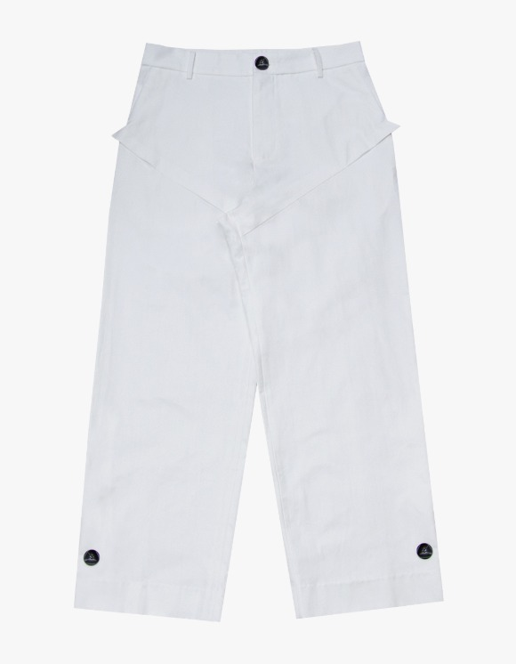 Aieul CNTR Trouser - White | HEIGHTS. | International Store