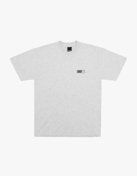 Only NY Network S/S Tee - Ash | HEIGHTS. | International Store