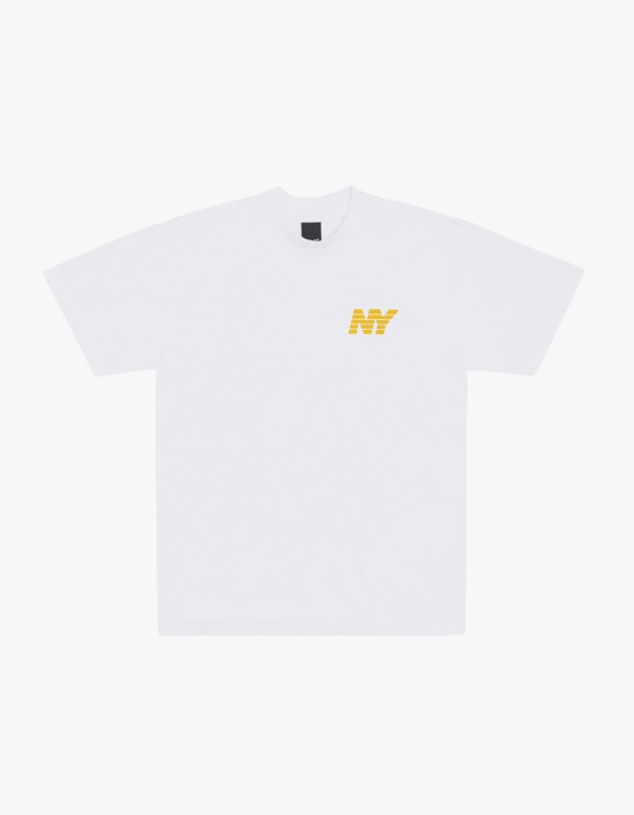 Only NY Ny Speed Logo S/S Tee - White | HEIGHTS. | International Store