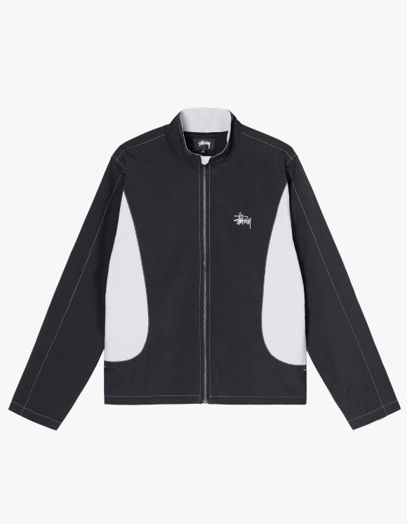 Stussy Panel Track Jacket - Black | HEIGHTS. | 하이츠 온라인 스토어