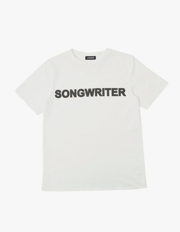 JOEGUSH Songwriter S/S Tee- White | HEIGHTS. | 하이츠 온라인 스토어