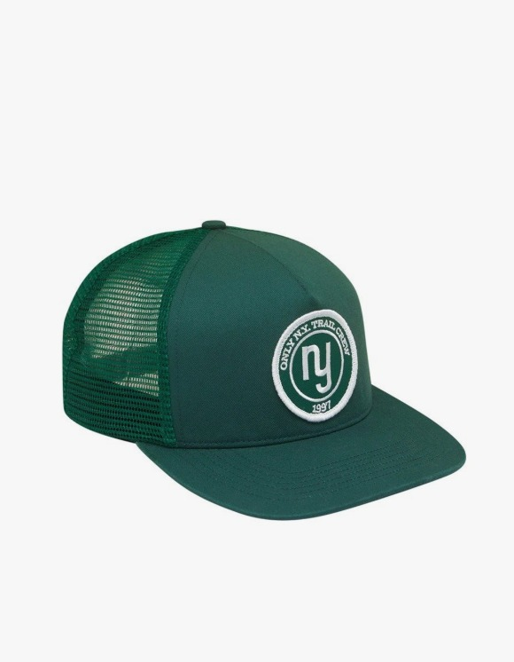 Only NY Trail Guide Trucker Hat - Dark Green | HEIGHTS. | International Store