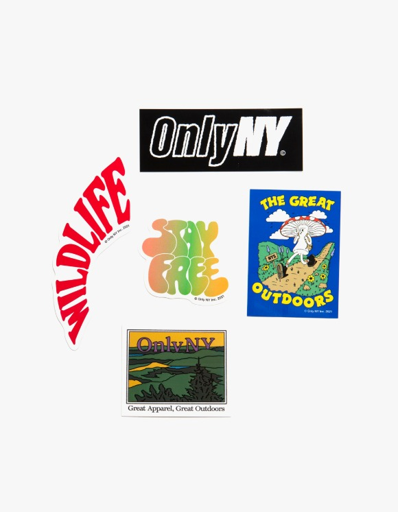 Only NY Spring/Summer 21 Sticker Pack - Multi | HEIGHTS. | International Store