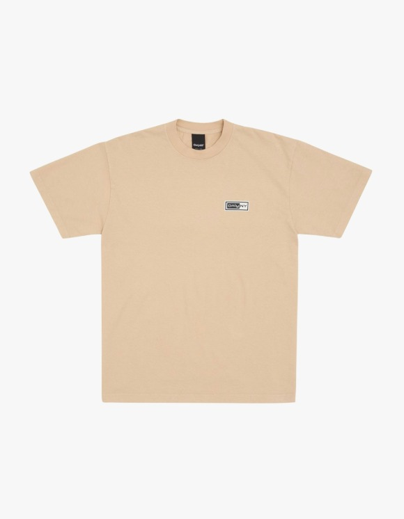Only NY Network S/S Tee - Sand | HEIGHTS. | International Store