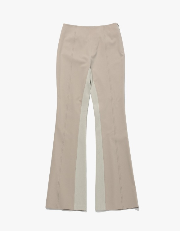 MISCHIEF 2021 Call Out Paneled Flare Pants - Cream | HEIGHTS. | 하이츠 온라인 스토어