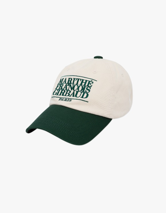 Marith+Franois Girbaud Marithe Classic Logo Color Block Cap Green | HEIGHTS. | International Store