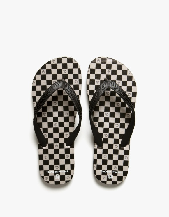 TheOpen Product T.O.P X Heights. Checker Board Flip Flop | HEIGHTS. | 하이츠 온라인 스토어