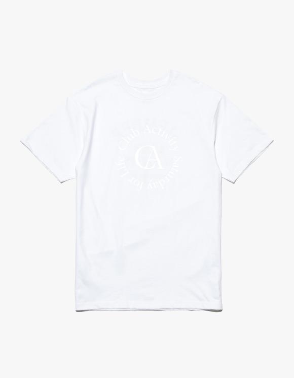 Club Activity Circle Logo Tee - White | HEIGHTS. | 하이츠 온라인 스토어
