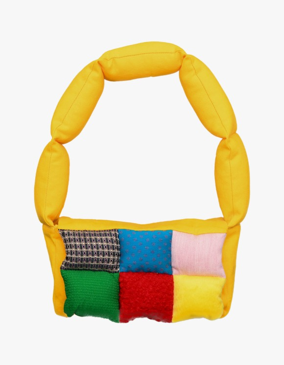 The Museum Visitor Cushion Minibag - Yellow | HEIGHTS. | International Store
