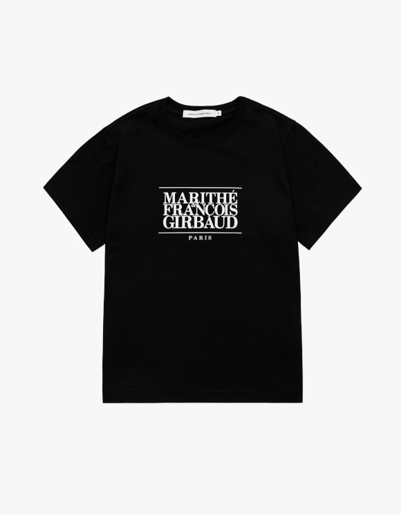 Marith+Franois Girbaud Marithe W Classic Logo Tee Black | HEIGHTS. | International Store